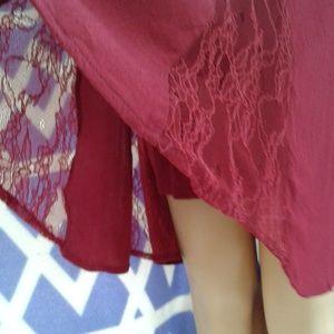 Xhilaration Dresses - Super cute Women's maroon xhilaration dress